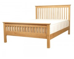 Cairo Solid Oak 4ft6 Bed Frame