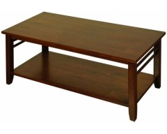 Hampton Solid Hardwood Dark Coffee Table