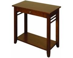 Hampton Solid Hardwood Dark Sofa Table