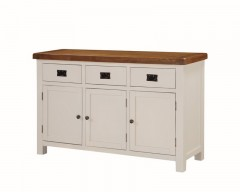 Henley Painted Oak 3 Door Sideboard