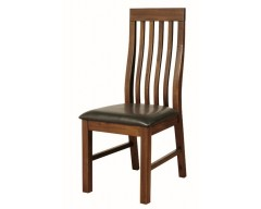 Rushton Acacia Wood Slat Back Dining Chair