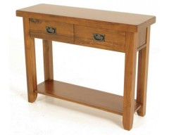 Rushton Acacia Wood Hall Table