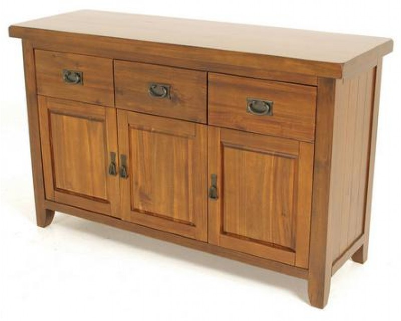 Rushton Acacia Wood Sideboard