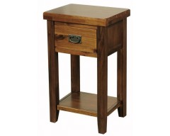 Rushton Acacia Wood Telephone Stand