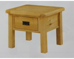 Sussex Oak End Table With Drawer
