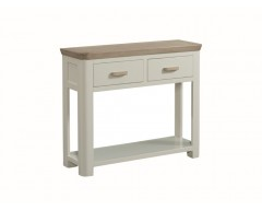 Tamworth Solid Oak / Oak Veneer Large Console - Painted