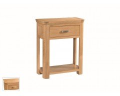 Tamworth Solid Oak / Oak Veneer Small Console - Standard