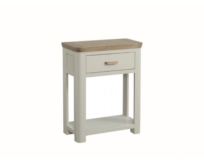 Tamworth Solid Oak / Oak Veneer Small Console - Painted