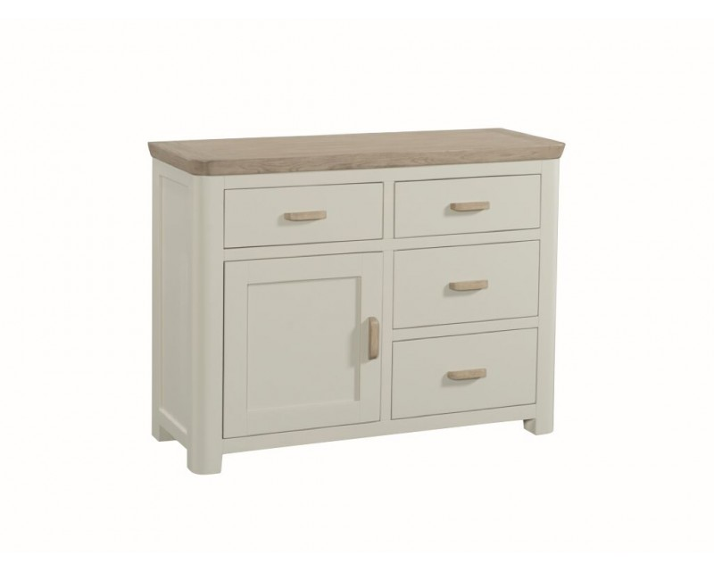 Tamworth Solid Oak / Oak Veneer Small Sideboard- Painted