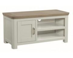 Tamworth Solid Oak / Oak Veneer Standard TV Unit - Painted