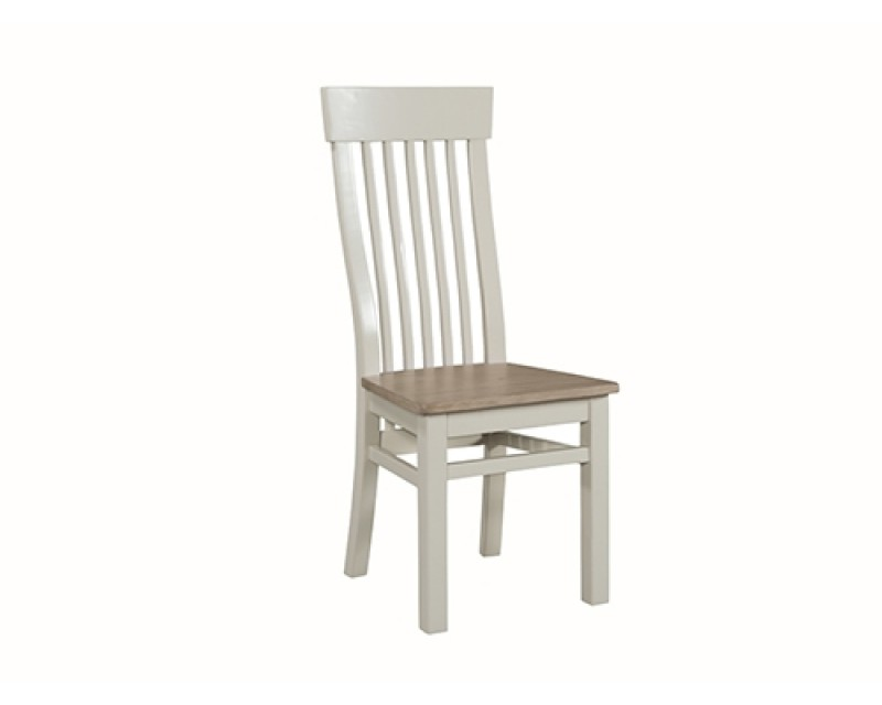 Tamworth Solid Oak / Oak Veneer Chair - Painted
