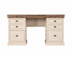 Canterbury Office Painted Large Wooden Desk - Multiple Colour Choices