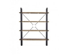 Nassau Tall Bookcase - Solid Reclaimed Wood