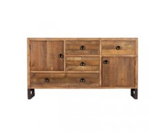 Nassau Wide Sideboard - Solid Reclaimed Wood