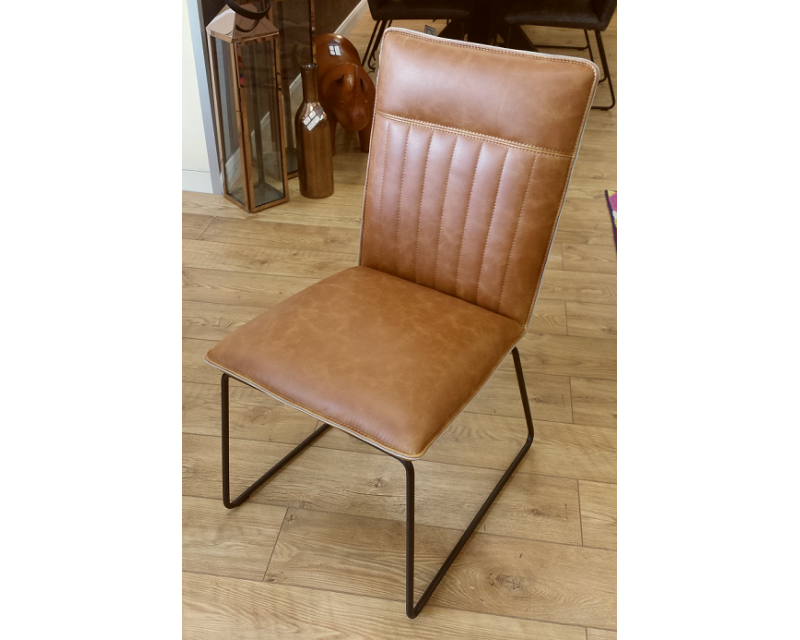 Caca Dining Chair in Tan