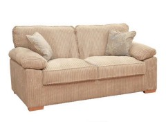 Sasha Upholstered 2 Seater Sofa Bed - Any Colour - 120cm Mattress