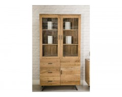 Ascot Display Cabinet 3 Doors & 3 Drawers