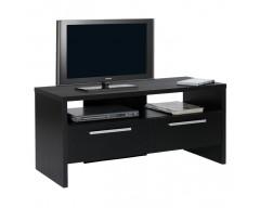 Dante TV Unit with 2 Drawers Black Ash