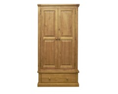 Warran 2 Door Wardrobe 1 Drawer