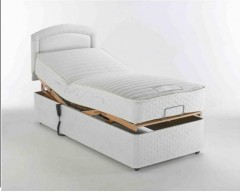 Furmanac Mibed Alpina 6ft (2 x 3ft linked) Electrically Adjustable Bed
