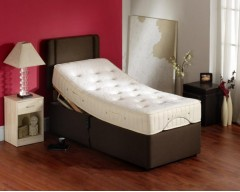 Furmanac Mibed Leona 5ft (2 x 2ft6 linked) Electrically Adjustable Bed