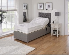 Furmanac Mibed Malvern 5ft (2 x 2ft6 linked) Electrically Adjustable Bed