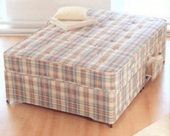 Baroness Orthopaedic Sprung 5ft King Divan Set
