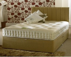 Bio-Cotton Latex 1000 4ft6 Divan Set
