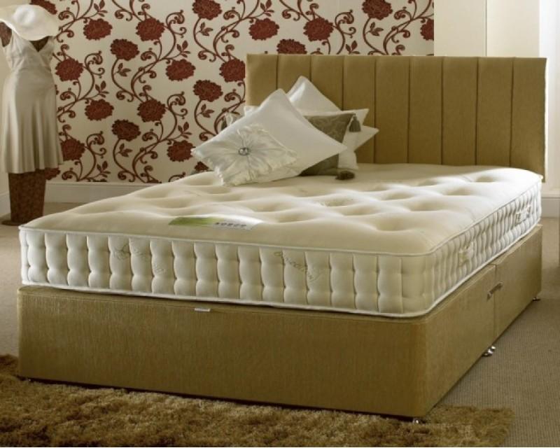 Bio-Cotton Latex 1000 4ft6 Divan Set