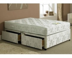 Hercules 1000 Pocket Sprung 2ft6 Small Single Divan Set