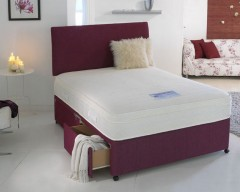 Silk 1500 Pocket Sprung 3ft Single Divan Set