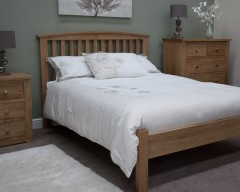 Lake Mead Solid Oak 3ft Bed Frame