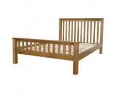 Chicago Solid Oak 5ft Bed Frame