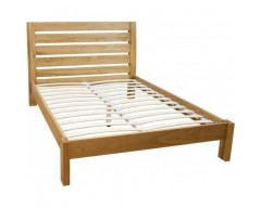Monaco Solid Oak 4ft Bed Frame