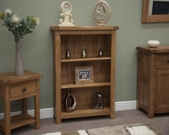 Chicago Oak Small Bookcase