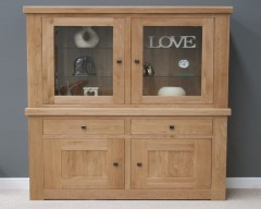 Marseille Solid Oak Small Sideboard Top