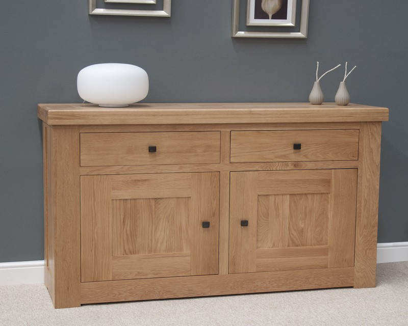 Marseille Solid Oak Small Sideboard