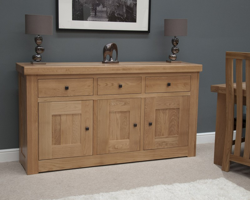 Marseille Solid Oak Medium Sideboard