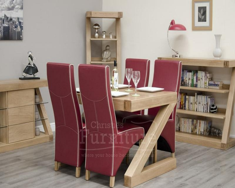 New York Solid Oak Dining Table 4ft x 3ft