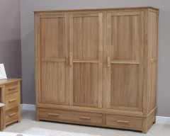 Sherwood Deluxe Triple Wardrobe