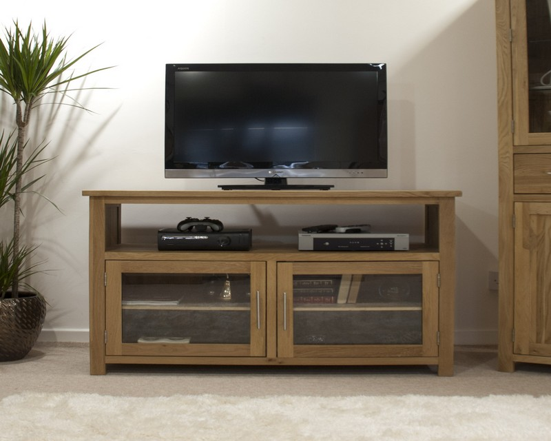 Sherwood Deluxe Oak Entertainment TV Unit