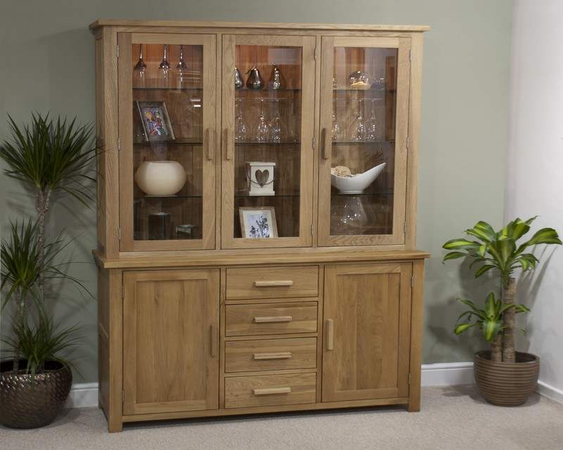 Sherwood Deluxe Oak Sideboard and Dresser Top