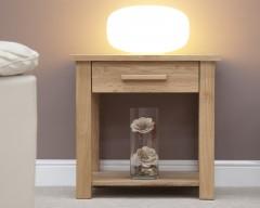 Sherwood Deluxe Oak Lamp Table