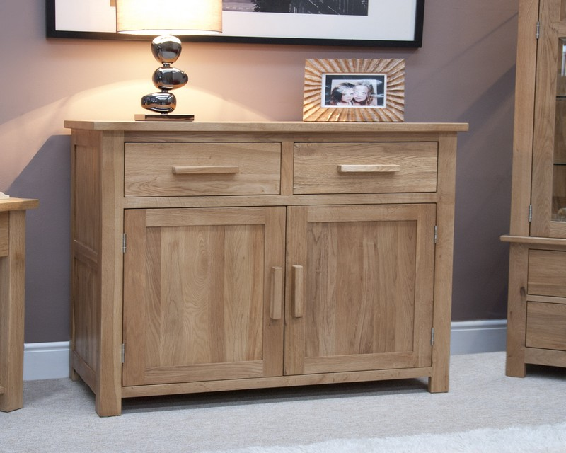 Sherwood Deluxe Oak Small Sideboard