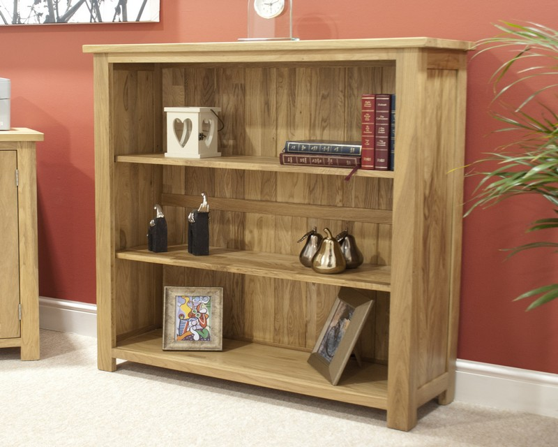 Sherwood Deluxe Oak Small Bookcase