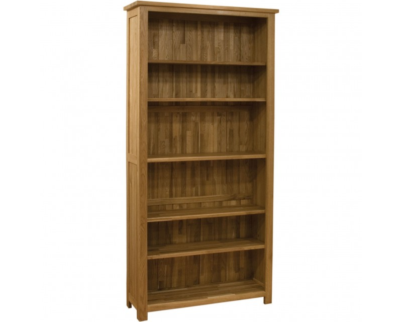 Sherwood Deluxe Oak Tall Bookcase