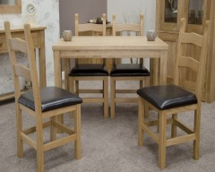 Lyon Solid Oak Dining Table 140cm x 90cm
