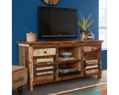 Cranbrooke Reclaimed Wood TV Multi Media Unit