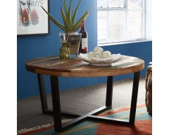 Cranbrooke Reclaimed Wood Round Coffee Table
