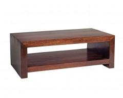 Tanda Mango (Dark) Solid Hardwood Contemporary Coffee Table Large